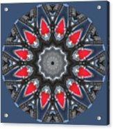 Valkyrie Kaleidoscope 2 Acrylic Print