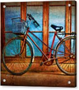 Hoi An Bike Acrylic Print