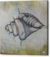 Hoirn In Water Acrylic Print