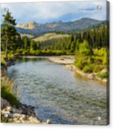 Holback River Acrylic Print