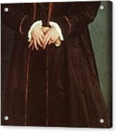 Holbein Christina Of Denmark- Duchess Of Milan 1538 Nation Hans The Younger Holbein Acrylic Print