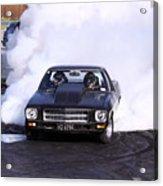 Holden Doing Burnout Acrylic Print