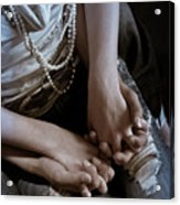 Holding Hands Acrylic Print