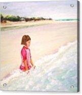 Holding The Ocean Acrylic Print