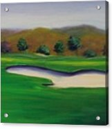 Hole 1 Great Beginnings Acrylic Print