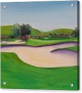 Hole 10 Pastures Of Heaven Acrylic Print