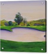 Hole 2 Nuttings Creek Acrylic Print