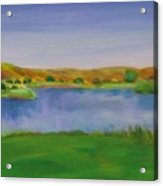Hole 3 Fade Away Acrylic Print