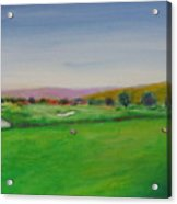 Hole 7 Of Mice And Men Acrylic Print