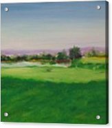 Hole 8 Mission Green Acrylic Print