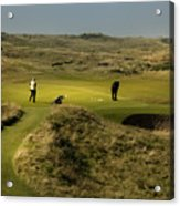 Hole 8 The Postage Stamp Royal Troon Golf Course Acrylic Print