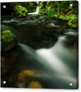 Hole In The Wall Falls Acrylic Print