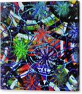 Holiday Abstract  Acrylic Print