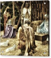 Holiday Christmas Manger Pa 02 Acrylic Print