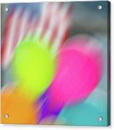 Holiday Decor Blur Acrylic Print
