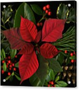 Holiday Greenery Acrylic Print