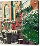 Holiday In The City Acrylic Print