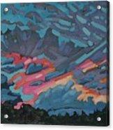 Holiday July Sunrise Acrylic Print