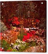 Holiday Mosaic Acrylic Print