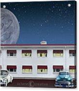 Holiday Motel Acrylic Print