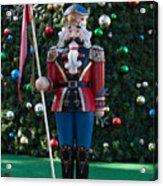 Holiday Nutcracker Acrylic Print