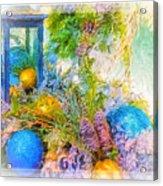 Holiday Vignette 2 Acrylic Print