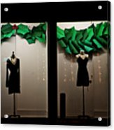 Holiday Window Fashion Acrylic Print