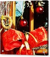 Holidays Are Coming  Acrylic Print