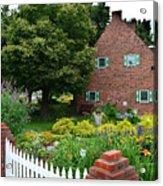 Holland English Garden Acrylic Print