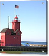 Holland Mi-big Red Acrylic Print