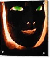 Holloween Mask Acrylic Print