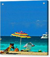 Hollywood Beach Florida Acrylic Print
