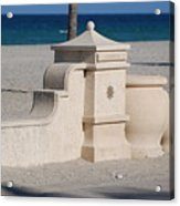 Hollywood Beach Acrylic Print