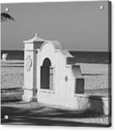 Hollywood Beach Wall Acrylic Print