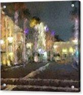 Hollywood Dream  Acrylic Print