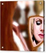 Hollywood Girl Acrylic Print