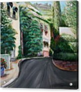 Hollywood Hills Acrylic Print