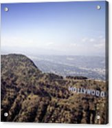Hollywood Sign, Built Ca. 1923 By Mack Acrylic Print