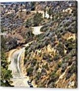 Hollywood Sign / Hollywood Hills Acrylic Print