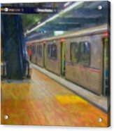 Hollywood Subway Station Acrylic Print