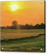 Holmes County Sunrise Acrylic Print