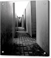 Holocaust Memorial Two Acrylic Print