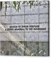 Holocaust Museum Of Jewish Heritage Ny Acrylic Print