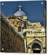 Holy City Acrylic Print