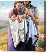 Holy Family Acrylic Print