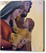 Holy Family Statue Acrylic Print
