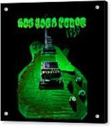 Holy Grail 1959 Retro Relic Guitar Acrylic Print