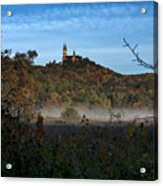 Holy Hill In Fall Acrylic Print