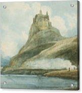 Holy Island Acrylic Print