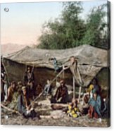 Holy Land: Bedouin Camp Acrylic Print